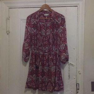 Parker Paisely Dress Size Medium